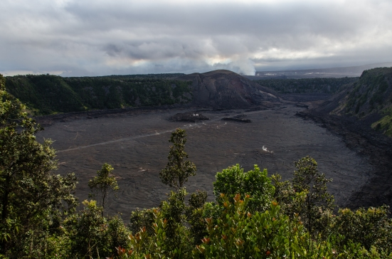 Puu Puai Overlook, Kilauea Iki Crater, Hawaii Volcanoes National Park