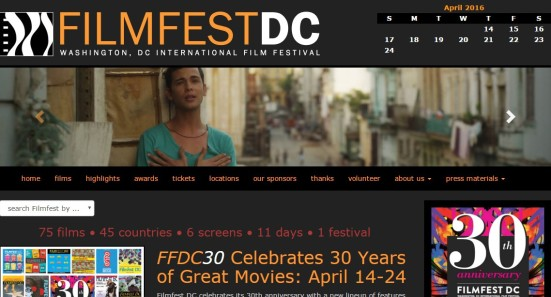 Filmfest DC website